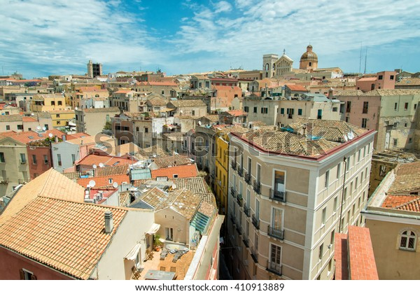 Old town of Cagliari, Sardinia