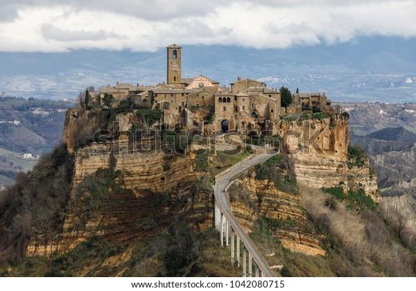 Old town Civita di Bagnoregio