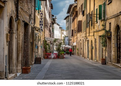 Old Town of Colle di Val d'Elsa, Tuscany, Italy, Europe, 4. October 2015