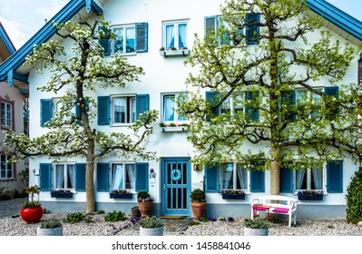 old town of diessen at the ammersee lake - germany - photo