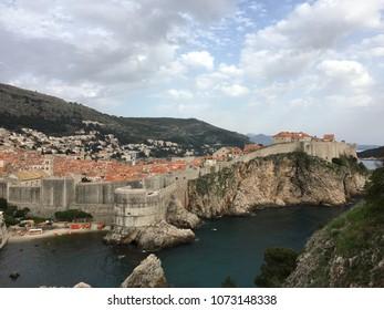 Old town in Dubrovnik Croatia