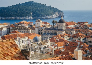 Old town in Dubrovnik, Croatia