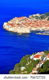 Old town of Dubrovnik on the Adriatic sea coast, Croatia