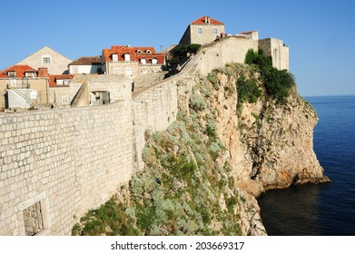 The old town of Dubrovnik on Croatia