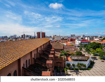 Old Town, elevated view, Santa Cruz de la Sierra, Bolivia