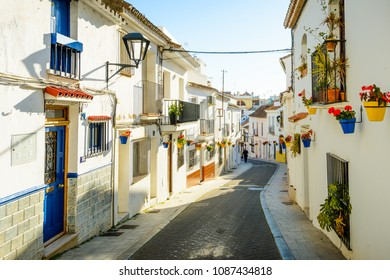 Old town of Estepona, Costa del Sol Occidental, Malaga, Andalusia, Spain, Iberian Peninsula
