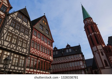 Old town of Frankfurt, Germany.