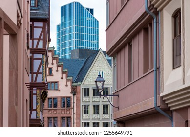 The old town of Frankfurt am Main, Germany