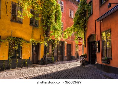 Old town - Gamla Stan, Stockholm, Sweden
