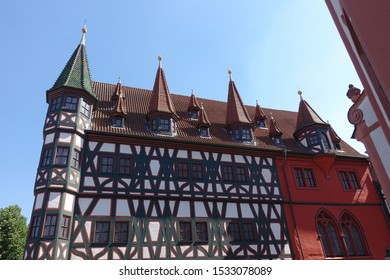 Old town hall in Fulda, Germany