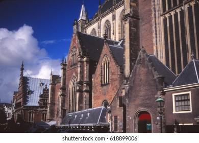 Old Town Hall of Haarlem, Netherlands