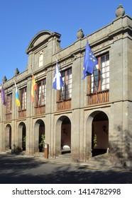 old town hall in la  laguna, tenerife