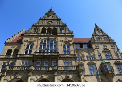 Old Town Hall Rathaus Building  of Bielefeld,Germany
