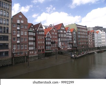 Old Town of Hamburg, Germany