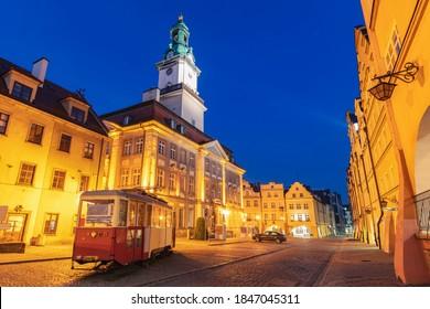 Old town of Jelenia Gora. Jelenia Gora, Lower Silesia, Poland. - Shutterstock ID 1847045311