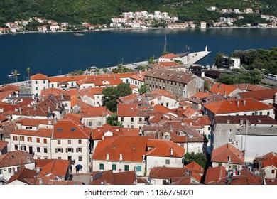 old town Kotor cityscape Montenegro