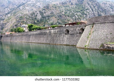 Old town Kotor fortress Montenegro