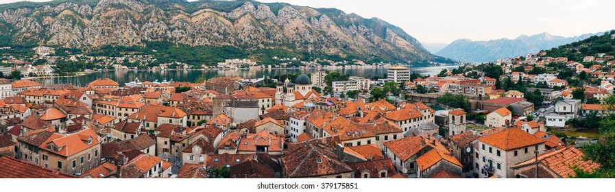 The old town of Kotor in Montenegro