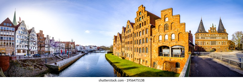 old town of lubeck (lübeck) in germany