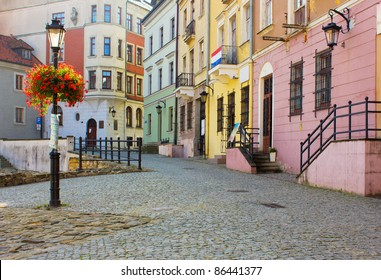 old town of Lublin, Poland