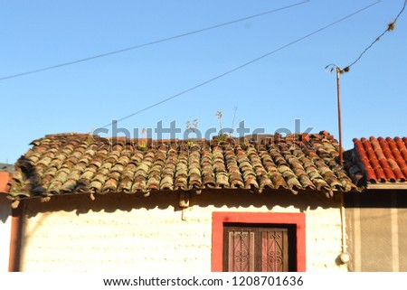 Old Town Mexican House San Gabriel Stock Photo Edit Now 1208701636