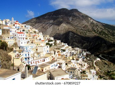 The old town of Olymbos, Crete. Beside the obvious beauty of this village, the atmosphere is authentic : the people leaving there chose long ago to keep living as their ancestors used to.