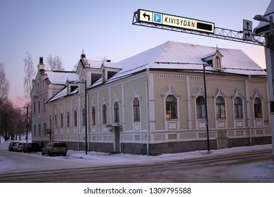 Old town of Oulu, Finland