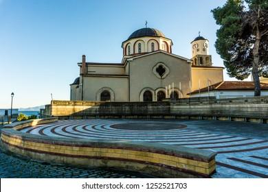 Old town Panagia of Kavala Greece