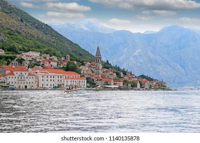 old town Perast Kotor bay Montenegro
