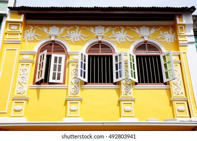 Old town, Phuket, Thailand