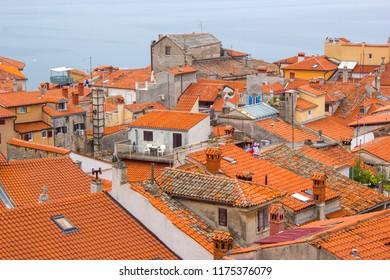 old town Piran - beautiful Slovenian adriatic coast