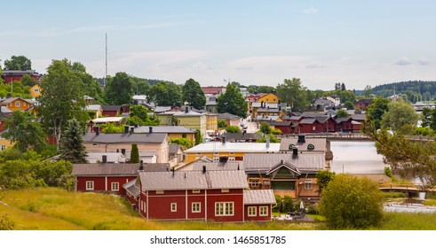 Old town of Porvoo in Finland.