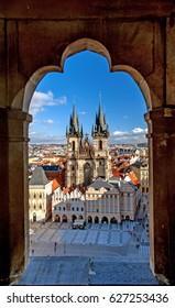Old Town, Prague, Czech Republic.