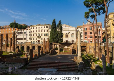 Old Town of Rome. Travel and Tourism Location in Italy, Europe