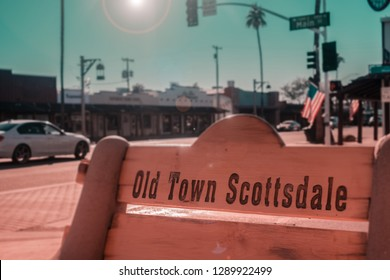 Old Town Scottsdale, Arizona,USA