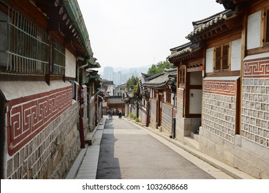 old town in seoul korea