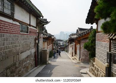 old town in seoul korea