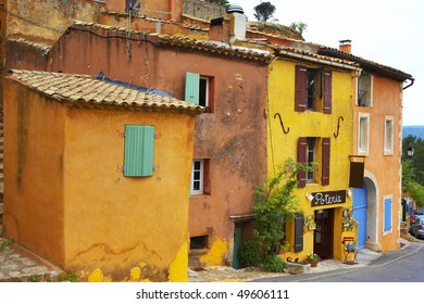 Old town in the south of France