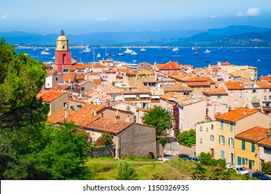 Old town in St Tropez, Provence, France