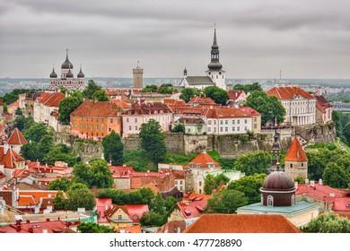 Old town of Tallinn (Estonia), HDR-technique
