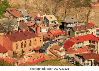 Old town of Tbilisi from different angle