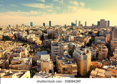 Old town of Tel Aviv (Israel)