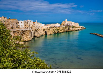 Old Town Of Vieste, Gargano Peninsula, Apulia region, Italy, Europe