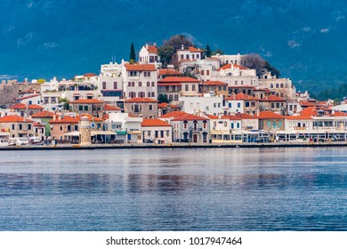 Old Town view from sea in Marmaris Town