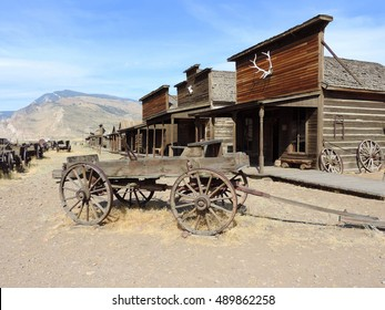 Old Town Village in Cody Wyoming.