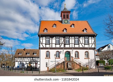 At the old townhall of Bad Vilbel, Hesse, Germany