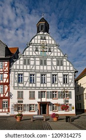 Old townhall at Butzbach, Hesse, Germany