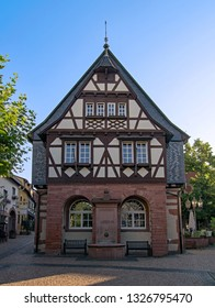 The old townhall of Hofheim, Hesse, Germany