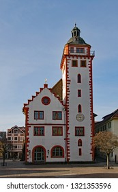 The old townhall of Mosbach in Baden-Wurttemberg, Germany