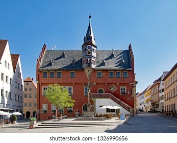 The old townhall of Ochsenfurt in Lower Franconia, Bavaria, Germany